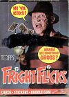 1988 Topps FRIGHT FLICKS cards FULL BOX 36 Packs Nightmare Elm St, Ghostbusters