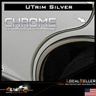 32ft Universal Car Door Edge Guard Protector U Trim Moulding Strip Silver Chrome