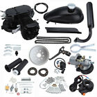 49cc 50cc 2 Stroke Motor Engine Kit Gas Motorized Bicycle Bike Black Upgraded