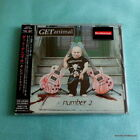 Adam Bomb Get Animal Number 2 II CD NEW Japan 2001 Pink Gibson Sleaze Rock Album