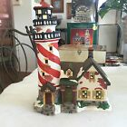 Heartland Valley Village Deluxe Porcelain Lighted House / Lighthouse 1999