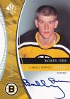 Bobby Orr 08 09 UD SP Authentic Marks Of Distinction Auto 25