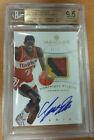 Dominique Wilkins 2012-13 Immaculate 4 Color Patch Auto 43 80 BGS 9.5 - POP 2