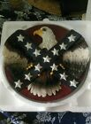 Eagle and Southern Flag 3-D Plate