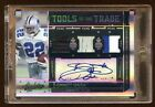 EMMITT SMITH 2010 ABSOLUTE AUTO #D 1 5 GAME SHOE PATCH PATCH LOGO AUTOGRAPH HOF
