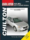 Repair Manual Chilton 28691 fits 04-12 Chevrolet Malibu