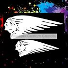 Indian Head Wing Set Airbrush StencilTemplate