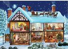 Wentworth Christmas House 250 Piece Wooden Jigsaw Puzzle Holiday New Sealed N...