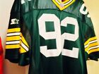 NFL Authentic Starter Pro Line Green Bay Packers Reggie White Jersey 52!!! RARE!