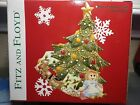 FITZ AND FLOYD 'WEE CHRISTMAS TREE ORNAMENT' LARGE