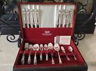 1847 Rogers Silverplate Flatware Set Eternally Yours Pat 1941; Serve 8, 52pcs