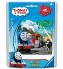 2 X Thomas & Friends Meeting Friends Puzzle in an Easy-Seal Pouch, 80-Piece