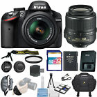 Nikon D3200 DSLR Camera -With 18-55mm DX VR Zoom Lens Student Essentials Kit