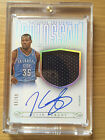 Kevin Durant 13-14 National Treasures Colossal JSY Auto # to 60