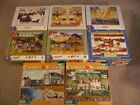 CHARLES WYSOCKI AMERICANA JIGSAW PUZZLES - LOT OF 8 - COMPLETE - 1000 PIECES