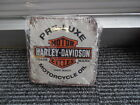 Retro Harley Davidson Pre Luxe Oil Coasters Set Of 4 Mancave Garage Mr Pinball