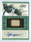 Andre Dawson Cubs 2012 Prime Cuts Icons Game Used Bat Auto 12 25
