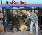 31' x 20' BLACK 45 MIL EPDM RUBBER ROOF ROOFING BY THE LOTTES COMPANIES
