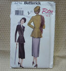 Butterick 6256 Retro '47 Vtg Style Jacket Skirt Sewing Pattern Uncut Sz 12-14-16