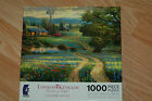 NEW- 1000 PIECE PUZZLE-THOMAS KINKADE - COUNTRY LIVING- MADE BY CEACO