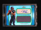 RUSSELL WILSON 2012 TOPPS FINEST REFRACTOR AUTOGRAPH AUTO JERSEY NUMBER #D 3 100