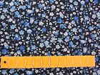 Summer Breeze Tiny Blue Floral 26661 Craft Fabri- Quilt Cotton Fabric 1/2 Yard