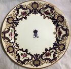 Pair of  Antique  Royal Worcester Armorial  Crest Plate of  Indian Royals