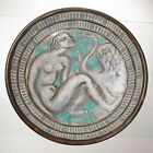 FRENCH EDOUARD CAZAUX (1889-1974) POTTERY ART DECO LARGE CHARGER DISH... Lot 200