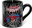 Marvel Comics: Spiderman Black Web: Glitter 14 oz. Ceramic Mug