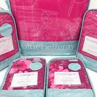 BLUEBELLGRAY Cherry Blossom QUEEN QUILT 5p SET Floral PINK COVERLET 100% Cotton