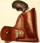 Pocket holster & ammo pouch for NAA Black Widow Adjustable sights - Leather tan