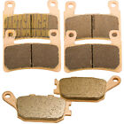 Front Rear Sintered Brake Pads For Honda CBR 929 RR CBR929RR 2000 2001