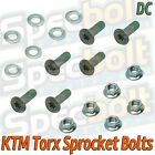 FITS KTM TORX SPROCKET BOLTS SX EX EXC MX MXC 85 105 150 125 250 300 350 450 520