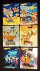 2013 HOT WHEELS 6pc Set of Hanna Barbera Cartoons Flinstones Jetsons Scooby Doo