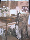 Waverly Home Office sewing pattern Decor window shade slipcover desk accessory