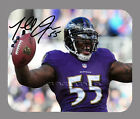 Item#2638 Terrell Suggs Baltimore Ravens Facsimile Autographed Mouse Pad