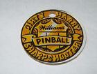 DIRTY HARRY By WILLIAMS ORIG. NOS PINBALL MACHINE PLASTIC PROMO KEYCHAIN 1 1/2