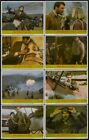 HIGH ROAD TO CHINA Set of 8 LOBBY CARDS (1983) Starring Tom Selleck