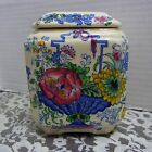 MASON'S STRATHMORE IRONSTONE CANISTER JAR WITH LID ENGLAND CHINA