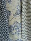 Lot of 3 Ten Yard Bolts of Blue French Country Decorator Fabrics!