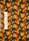 Fabric Traditions Patty Reed Thanksgiving Turkey Pumpkin Cotton Fabric  1.67 Yds