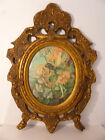 Victorian 19th Century English Minton 'Fairy' Tile Plaque Gilt Gesso Frame 21