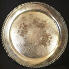 ANTIQUE SILVERPLATED HAND CHASED INTRICATE EMBOSSED 13
