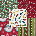 40 5 Keepsake Calico Fabric Quilt Square Charm Pack Christmas 5047