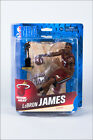 McFarlane NBA 24 LeBron James - Miami Heat with MVP Trophy solid case lot of 8