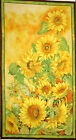 Sunflower Fabric Sunflowers Slice Of Sunshine Floral Wilmington 79253 PANEL