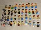 LEGO BRAND 38 pirate minifigures captain Redbeard and accessories