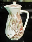 Nasco Sayonara Serving Water Beverage Pitcher Oriental Scene Japan Mountains