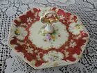 NORITAKE Made in Japan Handpainted Serving Dish with Handle 9 inch