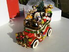 Macy's Exclusive Fitz & Floyd Santa Mobile Musical We Wish You A Merry Christmas